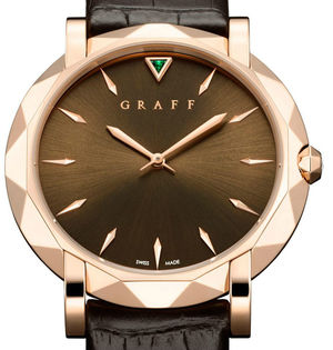 Graff Star Collection Rose Gold With Chocolate Dial