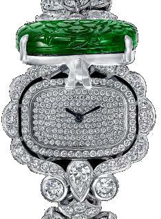 Diamond&Carved Emerald Graff Jewellery Watches