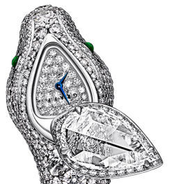 Serpentine Full Diamond Graff Jewellery Watches