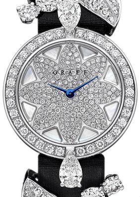 Diamond With White Mother of Pearl Dial Graff Jewellery Watches