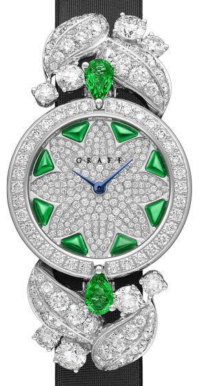 Diamond&Emerald Graff Jewellery Watches