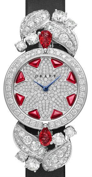 Diamond&Ruby Graff Jewellery Watches