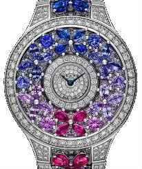 Full Motif Full Diamond&Multi-Coloured Sapphire Graff Butterfly