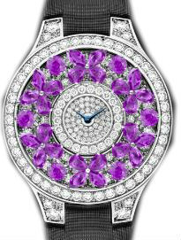 Full Motif Violet Sapphire Graff Butterfly