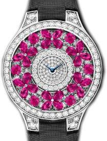 Full Motif Pink Sapphire Graff Butterfly