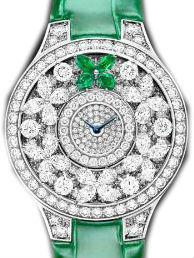 Single Motif Diamond&Emerald Graff Butterfly