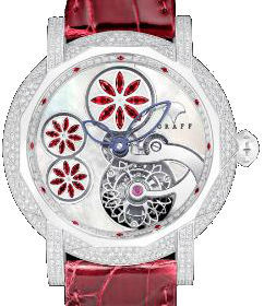 Floral Tourbillon Ruby Floral Motif Graff Technical MasterGraff