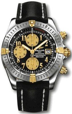 B13356.BLACK.ARABIC.CALF.BA Breitling Chronomat 41