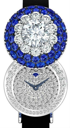 Halo secret watch Sapphire&Diamond Graff Jewellery Watches