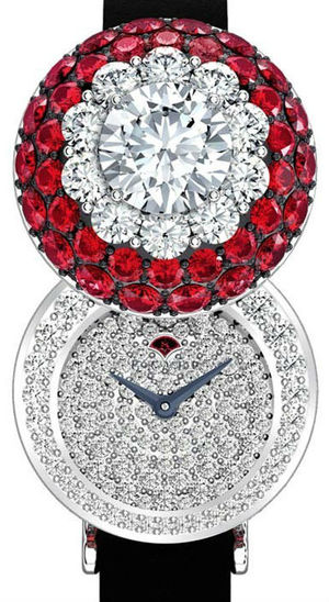Halo secret watch Ruby&Diamond Graff Jewellery Watches
