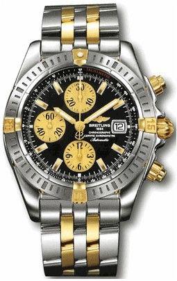 B13356.BLACK.INDEX.SGPILOT Breitling Chronomat 41