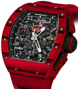 RM 011 Red TPT Quartz Automatic Flyback Chronograp Richard Mille Mens collectoin RM 001-050