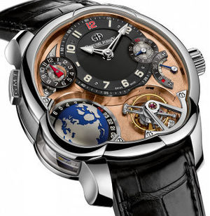GMT Platinum Black dial Greubel Forsey GMT