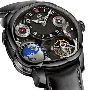 GMT Titanium Black dial Greubel Forsey GMT