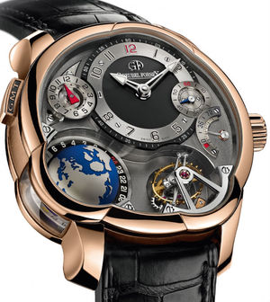 Greubel Forsey GMT GMT 5N red gold Anthracite dial
