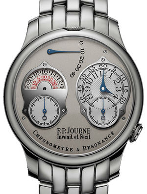 F.P.Journe Souveraine chronometre a resonance 24 hour pt grey