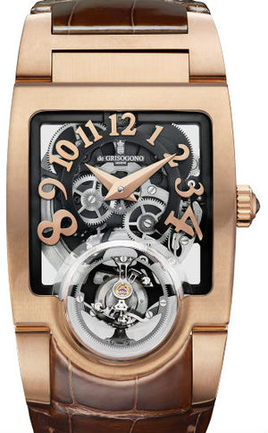 Uno Tourbillon N01 de Grisogono Uno Collection