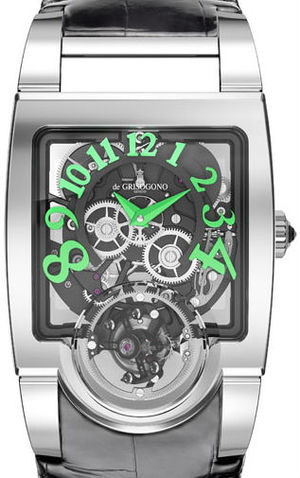 de Grisogono Uno Collection Uno Tourbillon N02
