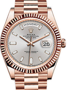 228235 Sundust diamond Rolex Day-Date 40