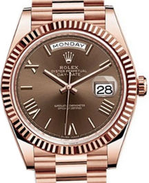 Часы Rolex Day-Date 40 Everose gold
