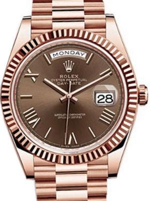 Rolex Day-Date 40 228235 Chocolate