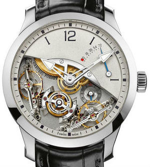 Double Balancier White gold Greubel Forsey Double Tourbillon 30°