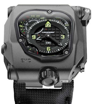 emc time hunter Urwerk EMC Collection