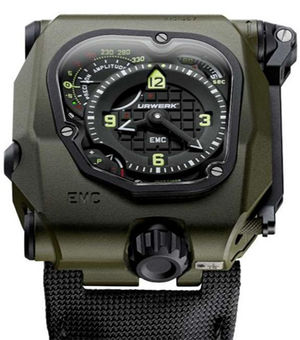 emc time hunter ceramic Urwerk EMC Collection