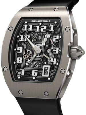 RM 67-01 titanium Richard Mille Mens collectoin RM 050-068