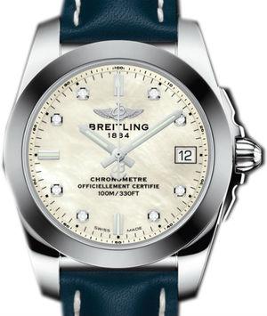 W7433012 A780 194X A16BA.1 Breitling Galactic Lady