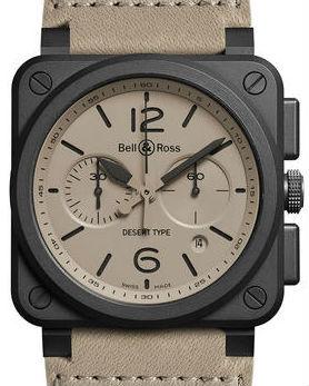 BR0394-DESERT-CA Bell & Ross BR 03-94 Chronograph
