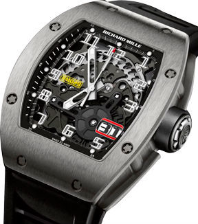 Richard Mille Mens collectoin RM 001-050 RM 029 Titanium Automatic with Oversize Date