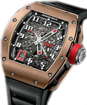 RM 030 Black Rose Richard Mille Mens collectoin RM 001-050