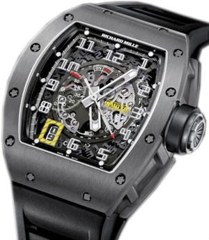 RM 030 White Gold Richard Mille Mens collectoin RM 001-050