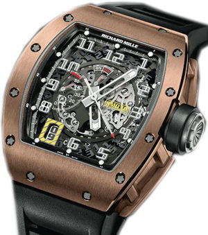RM 030 Rose Gold Richard Mille Mens collectoin RM 001-050