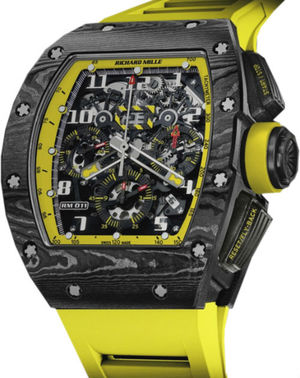 Richard Mille RM Limited Edition RM 011 flyback chronograph yellow storm