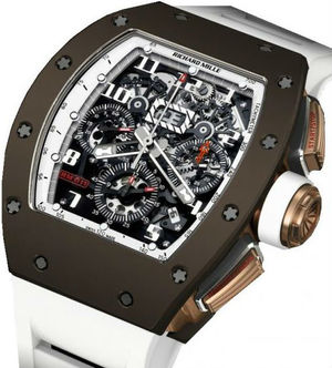 Richard Mille RM Limited Edition RM 011 Flyback Chronograph Brown Ceramic