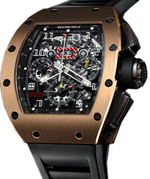 RM 011 Flyback Chronograph Rose Gold Richard Mille Mens collectoin RM 001-050
