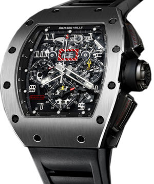 RM 011 Flyback Chronograph White Gold Richard Mille Mens collectoin RM 001-050