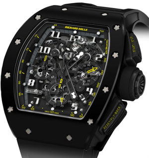 RM 011 Yellow Flash Richard Mille Mens collectoin RM 001-050