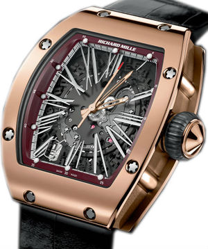 RM 023 Red Gold Richard Mille RM Womens collection