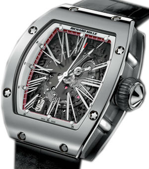 Richard Mille RM Womens collection RM 023 White Gold