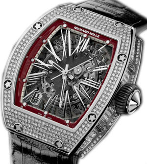 Richard Mille RM Womens collection RM 023 White Gold Diamonds