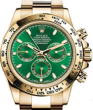 116508 Green Rolex Cosmograph Daytona