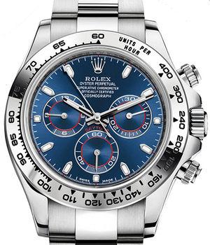 116509 Blue Rolex Cosmograph Daytona