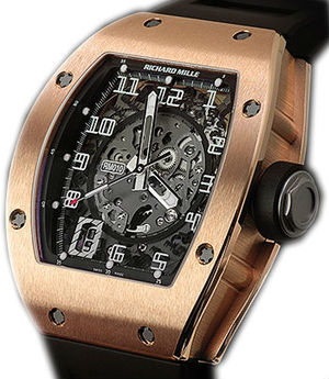 RM010 Pink Gold Richard Mille Mens collectoin RM 001-050