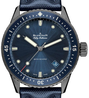 5000-0240-O52A Blancpain Fifty Fathoms