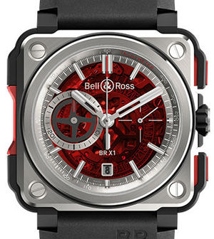 Bell & Ross BR-X1 BR X1 Red Boutique Edition