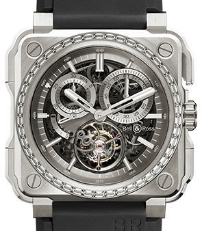 Bell & Ross BR-X1 BR-X1 Chronograph Tourbillon Titanium diamonds