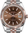 Rolex Datejust 41 126331 Chocolate long-lasting blue luminescence